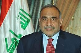 رئيس الوزراء المستقيل عادل عبد المهدي