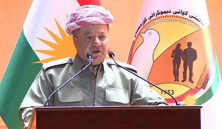 رئيس إقليم كوردستان مسعود البارزاني