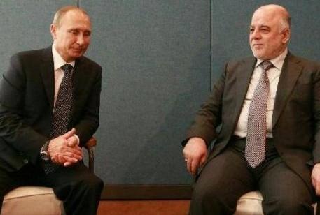حيدر العبادي مع بوتين