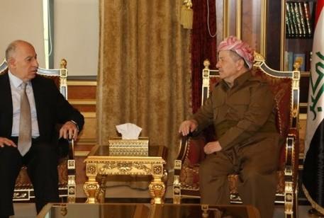 السيد أسامة النجيفي رئيس تحالف القرار العراقي يزور الرئيس بارزاني