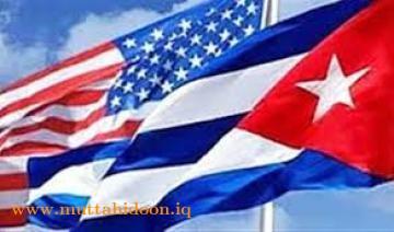 علم كوبا وامر كيا